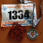 Run Hawaii Series 1: Hibiscus Half Marathon, Honolulu, HI